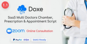 Doxe - SaaS Doctors Chamber, Prescription & Appointment Software