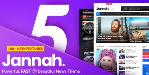 JANNAH NEWS V5.0.5 - NEWSPAPER MAGAZINE NEWS AMP BUDDYPRESS