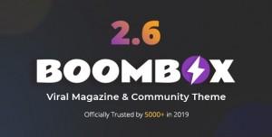 BOOMBOX V2.6.5 - VIRAL MAGAZINE WORDPRESS THEME