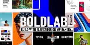 BOLDLAB V2.1 - CREATIVE AGENCY THEME