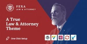 FEXA V1.0.1 - LAWYER & ATTORNEY WORDPRESS THEME