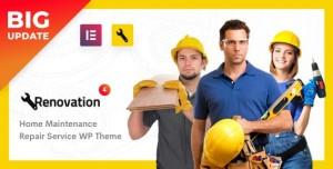 RENOVATION V4.1.5 - REPAIR SERVICE, HOME MAINTENANCE ELEMENTOR WP THEME