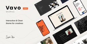 VAVO V2.2.1 - AN INTERACTIVE & CLEAN THEME FOR CREATIVES