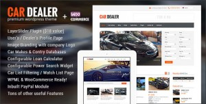 CAR DEALER V1.5.2 - AUTOMOTIVE RESPONSIVE WORDPRESS THEME