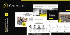 CONSTO V1.0.1 - INDUSTRIAL CONSTRUCTION COMPANY THEME
