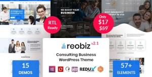 REOBIZ V2.1 - CONSULTING BUSINESS WORDPRESS THEME