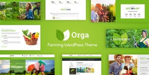 ORGA V2.0 - ORGANIC FARM & AGRICULTURE WORDPRESS THEME
