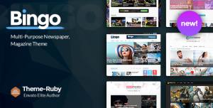BINGO V2.7 - MULTI-PURPOSE NEWSPAPER & MAGAZINE THEME