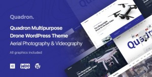 QUADRON V1.0.9 - AERIAL PHOTOGRAPHY & VIDEOGRAPHY DRONE WORDPRESS THEME