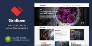 GRIDLOVE V1.9.7 - CREATIVE GRID STYLE NEWS & MAGAZINE