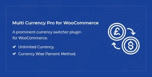 Multi Currency Pro for WooCommerce v1.4