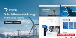 RENERGY V1.0.9 - SOLAR AND RENEWABLE ENERGY WORDPRESS THEME