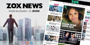 ZOX NEWS V3.5.0 - PROFESSIONAL WORDPRESS NEWS