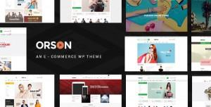 ORSON V3.0 - INNOVATIVE ECOMMERCE WORDPRESS THEME