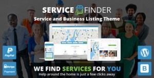 SERVICE FINDER V3.5 - PROVIDER AND BUSINESS LISTING THEME