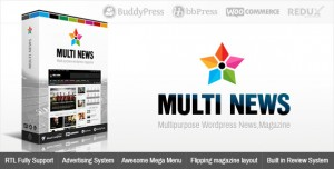 MULTINEWS V2.6.10 - MULTI-PURPOSE WORDPRESS NEWS, MAGAZINE