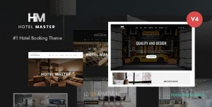 HOTEL MASTER V4.1.0 - HOTEL BOOKING WORDPRESS THEME