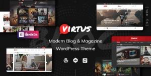 VIRTUS V1.1.0 - MODERN BLOG & MAGAZINE WORDPRESS THEME