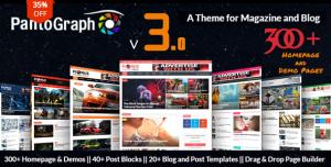 PANTOGRAPH V3.6.0 - NEWSPAPER MAGAZINE THEME