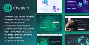CRYPTION V1.0.6.1 - ICO, CRYPTOCURRENCY & BLOCKCHAIN WORDPRESS THEME