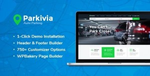 PARKIVIA V1.1.2 - AUTO PARKING & CAR MAINTENANCE WORDPRESS THEME