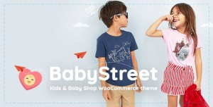 BABYSTREET V1.3.5 - WOOCOMMERCE THEME FOR KIDS STORES AND BABY SHOPS CLOTHES AND TOYS