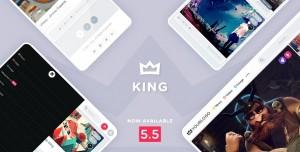 KING V5.5.1 - WORDPRESS VIRAL MAGAZINE THEME
