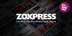 ZOXPRESS V1.08.0 - ALL-IN-ONE WORDPRESS NEWS THEME