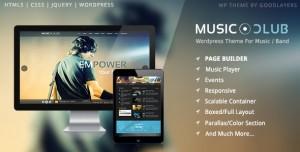 MUSIC CLUB V1.8.1 - BAND | PARTY WORDPRESS