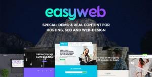 EASYWEB V2.4.4 - WP THEME FOR HOSTING, SEO AND WEB-DESIGN