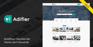 ADIFIER V3.8.5 - CLASSIFIED ADS WORDPRESS THEME