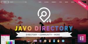 JAVO DIRECTORY V4.1.8 - WORDPRESS THEME