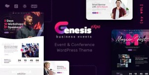GENESISEXPO V1.2.10 - BUSINESS EVENTS & CONFERENCE THEME