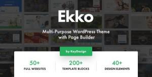 EKKO V2.1 - MULTI-PURPOSE WORDPRESS THEME WITH PAGE BUILDER