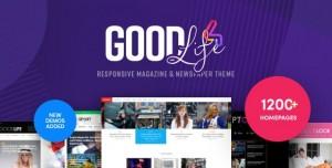 GOODLIFE V4.2.2.2 - RESPONSIVE MAGAZINE THEME
