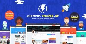 OLYMPUS V3.2.5 - POWERFUL BUDDYPRESS THEME FOR SOCIAL NETWORKING