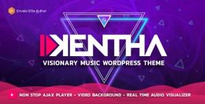 KENTHA V2.2.6 - NON-STOP MUSIC WORDPRESS THEME WITH AJAX