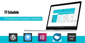 TV Schedule and Timetable for WordPress v1.1