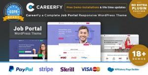 CAREERFY V4.5.0 - JOB BOARD WORDPRESS THEME