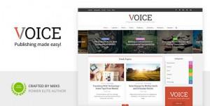 VOICE V2.9.6.6 - CLEAN NEWS/MAGAZINE WORDPRESS THEME