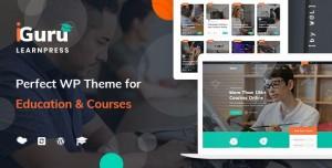 IGURU V1.0.9 - EDUCATION & COURSES WORDPRESS THEME
