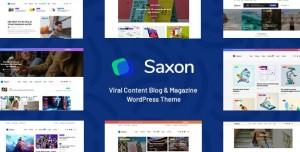 SAXON V1.8.0 - VIRAL CONTENT BLOG & MAGAZINE THEME