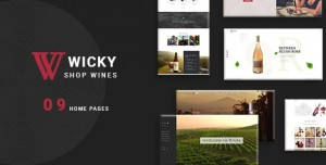 WICKY V1.0.0 – WINE SHOP WOOCOMMERCE THEME