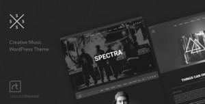 SPECTRA V2.5.4 - MUSIC THEME FOR WORDPRESS