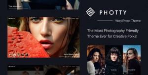 PHOTTY V24.0 - PHOTOGRAPHY WORDPRESS THEME