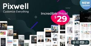 PIXWELL V5.1 - MODERN MAGAZINE