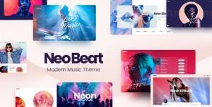 NEOBEAT V1.0 - MUSIC WORDPRESS THEME