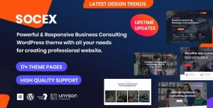 SOCEX V1.0 - CONSULTING & BUSINESS WORDPRESS THEME