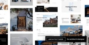ARCHITECTURER V2.9 - WORDPRESS FOR INTERIOR DESIGNER