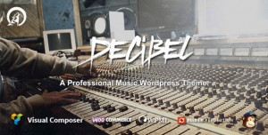 DECIBEL V3.1.4 - PROFESSIONAL MUSIC WORDPRESS THEME